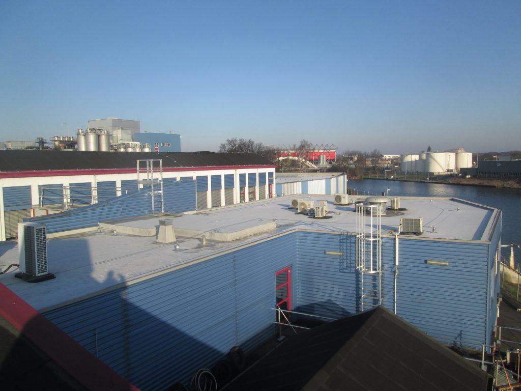begeleiding plaatsing veiligheidsvoorzieningen op dak